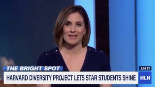 Brandon Fleming & Harvard Diversity Project Alumni on CNN Headline News
