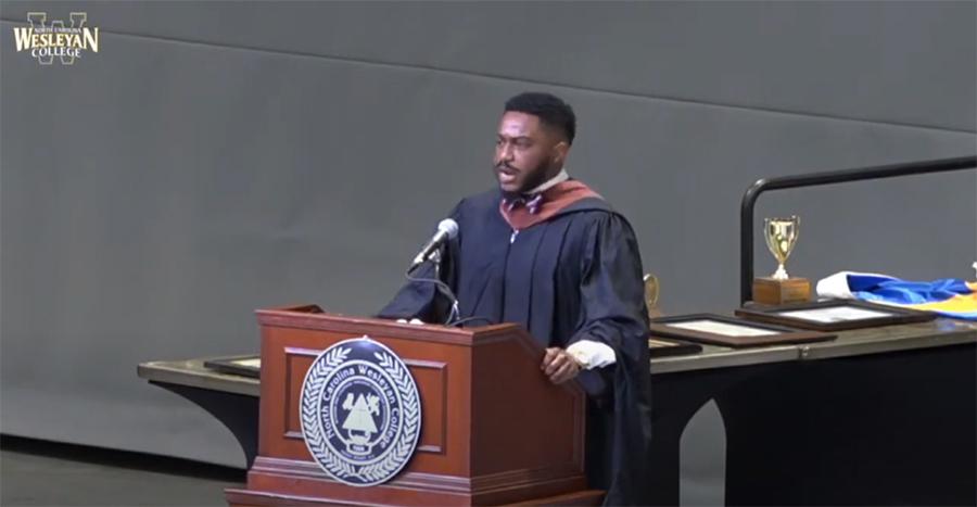 Brandon P. Fleming Commencement Speech