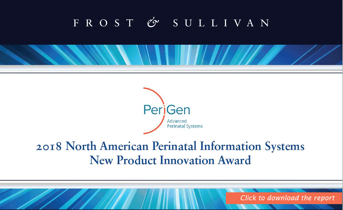 Frost & Sullivan's Official Release for Perinatal Innovation Award
