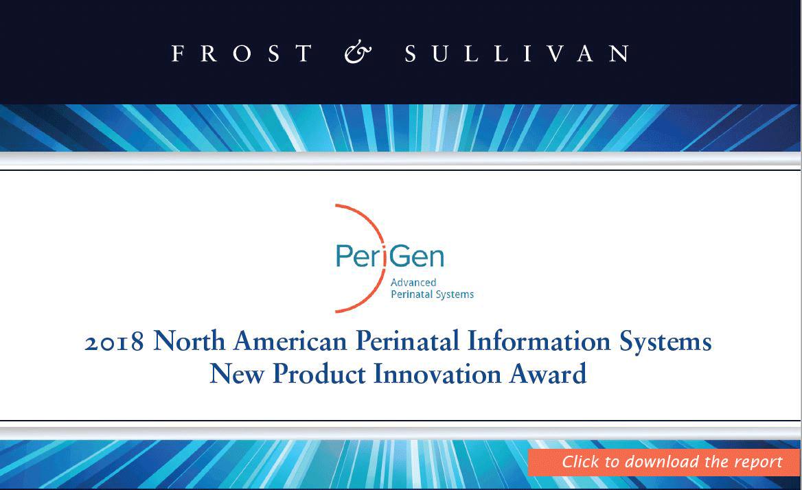 2018 Frost & Sullivan Product Innovation Award