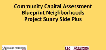 Community Capital Assessment