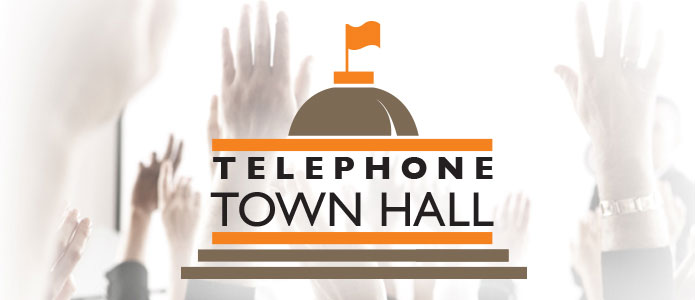 NEXT TELE TOWN HALL CALL IS  December 2nd TH 6:30 CST CALL 617-829-6425