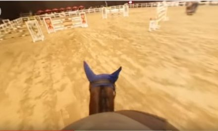 Show Jumping With 360 Camera