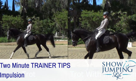 Equestrian Training Scale: Impulsion – Video
