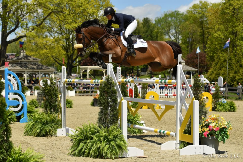 Beezie Madden and Breitling LS Capture $50,000 Old Salem Farm Grand Prix CSI2*, Presented by The Kincade Group at Old Salem Farm Spring Horse Shows
