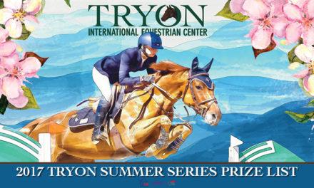 Tryon International Equestrian Center Announces 2017 Summer Series Dates