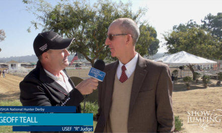 "Judging Hunters – Interview With USEF ""R"" Judge, Geoff Teall"
