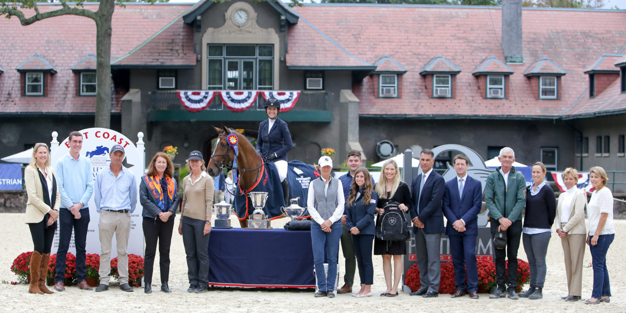 McKayla Langmeier Wins USEF Show Jumping Talent Search Finals – East