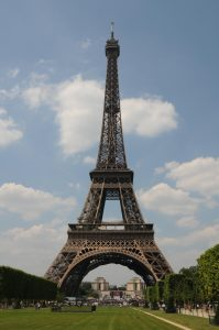 Eiffel tower Mystery in paris