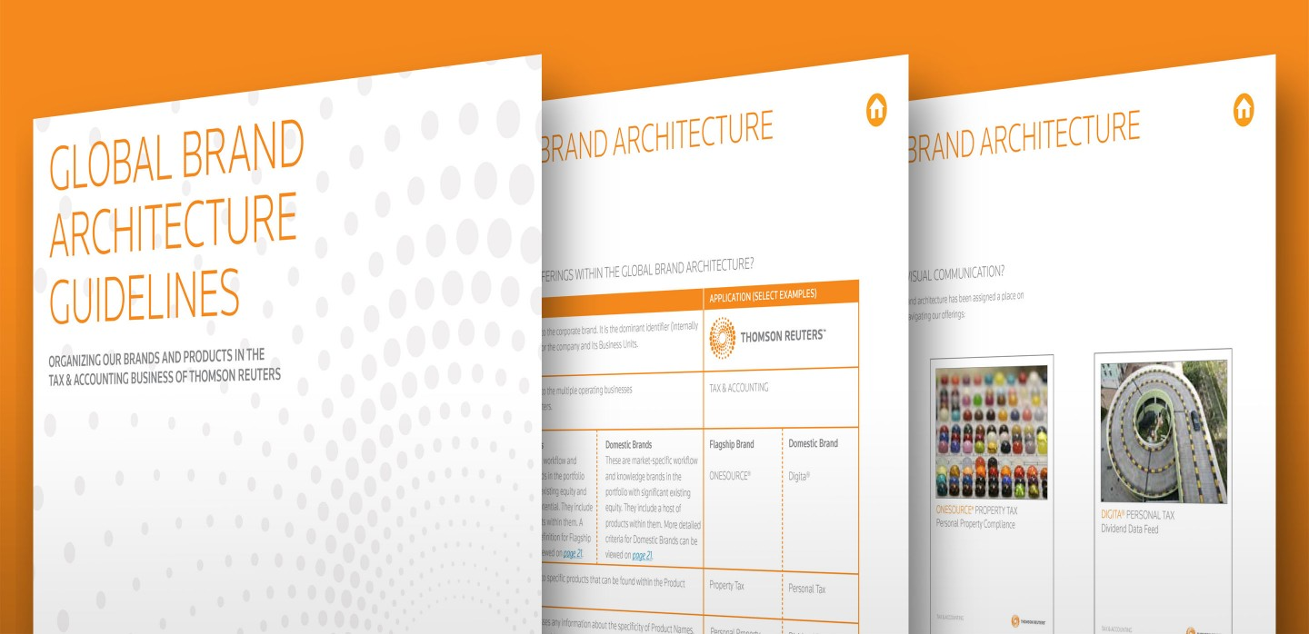 Thomson Reuters Brand Architecture Guidelines