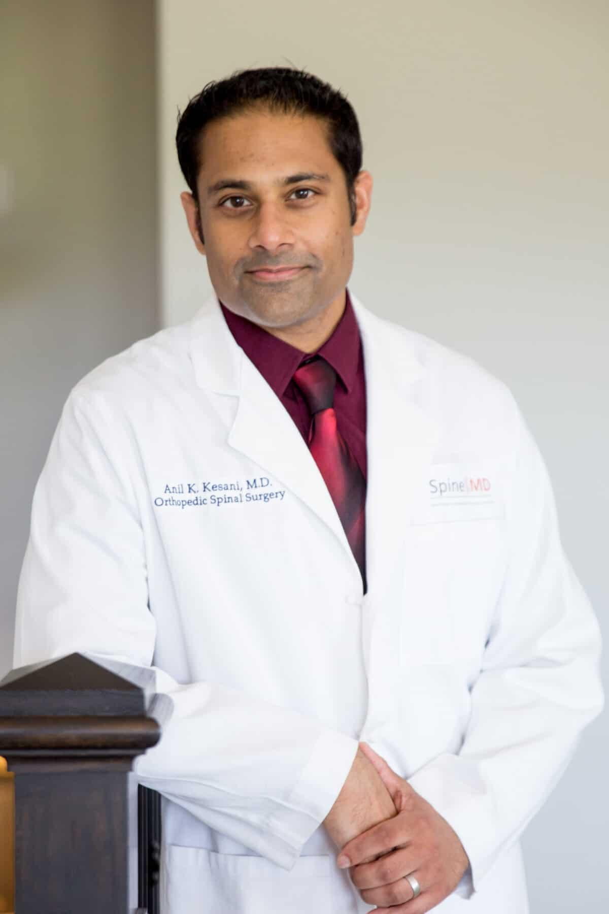 Anil Kesani MD Spine Surgeon