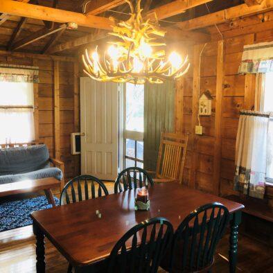 Deluxe Cabin Kitchen