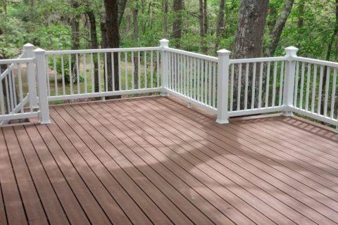 new deck contruction