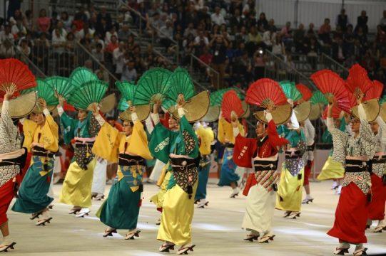 Danças folclóricas marcaram a cerimônia de abertura do 21o Festival do Japão. Foto: Caio Mattos