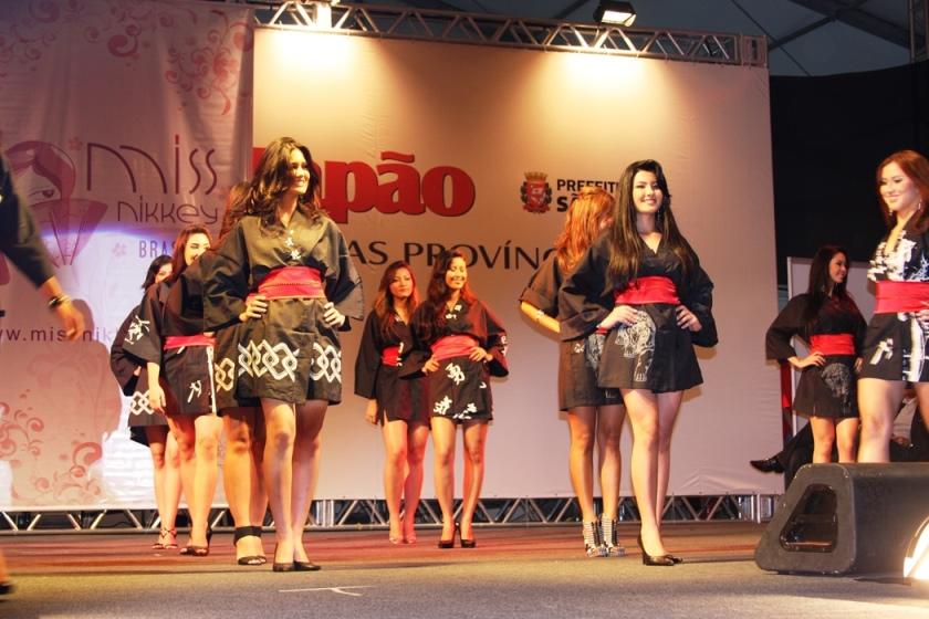 Concurso Miss Nikkey estã entre os principais atrativos do Festival do Japão: Foto: Divulgação