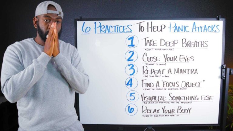 6 practices to help panic attacks