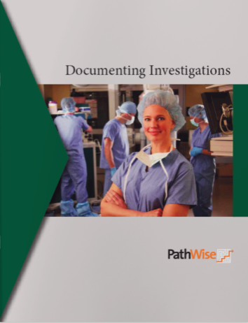 Documenting Investigations for Role Based Training
