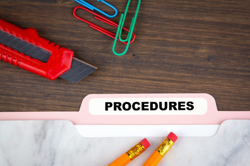 Writing Standard Operating Procedures