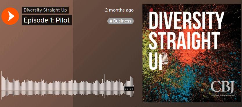 Diversity Straight Up – Episode 1