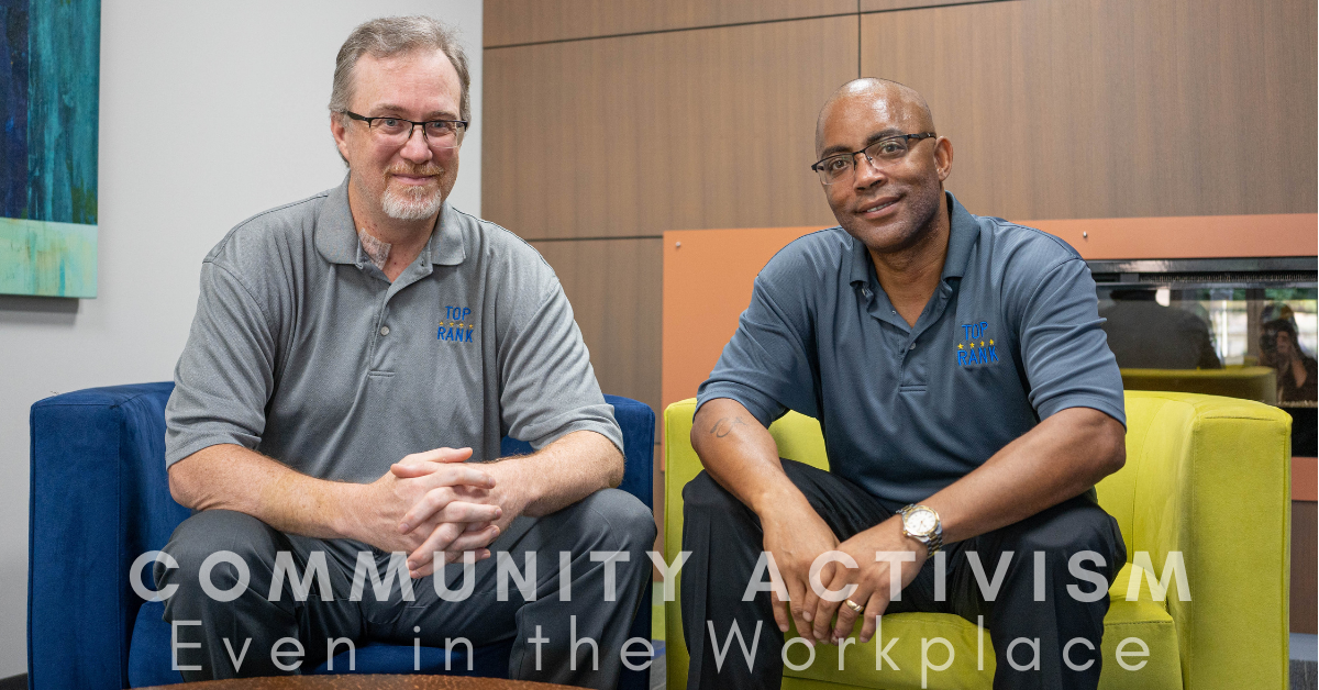 Community Activism – Even in the workplace