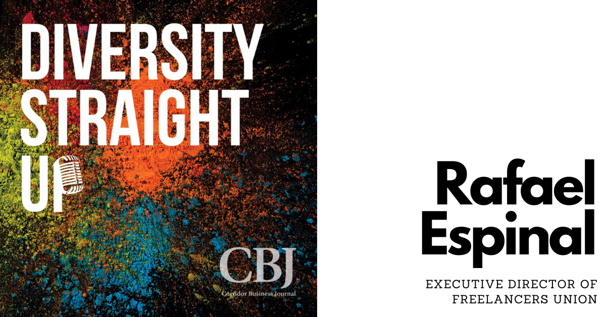 Diversity Straight Up: Rafael Espinal