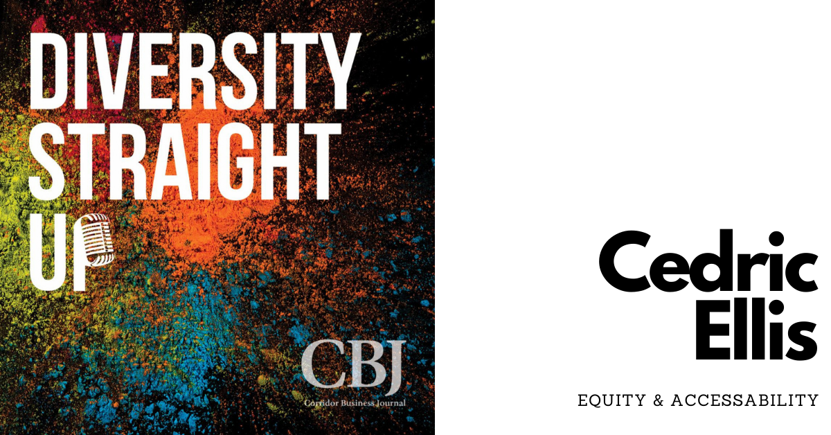 Diversity Straight Up: Cedric Ellis