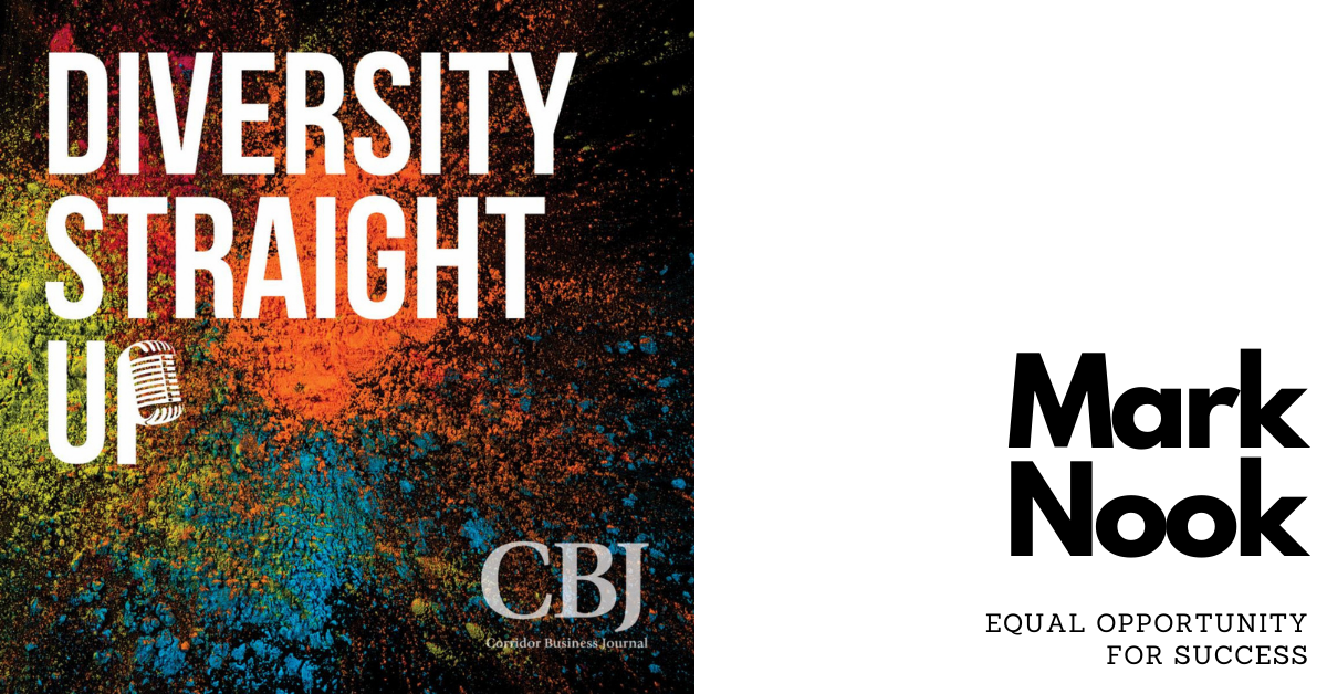 Diversity Straight up: Mark Nook