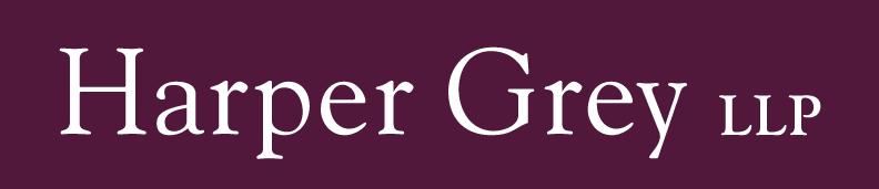 harper grey logo