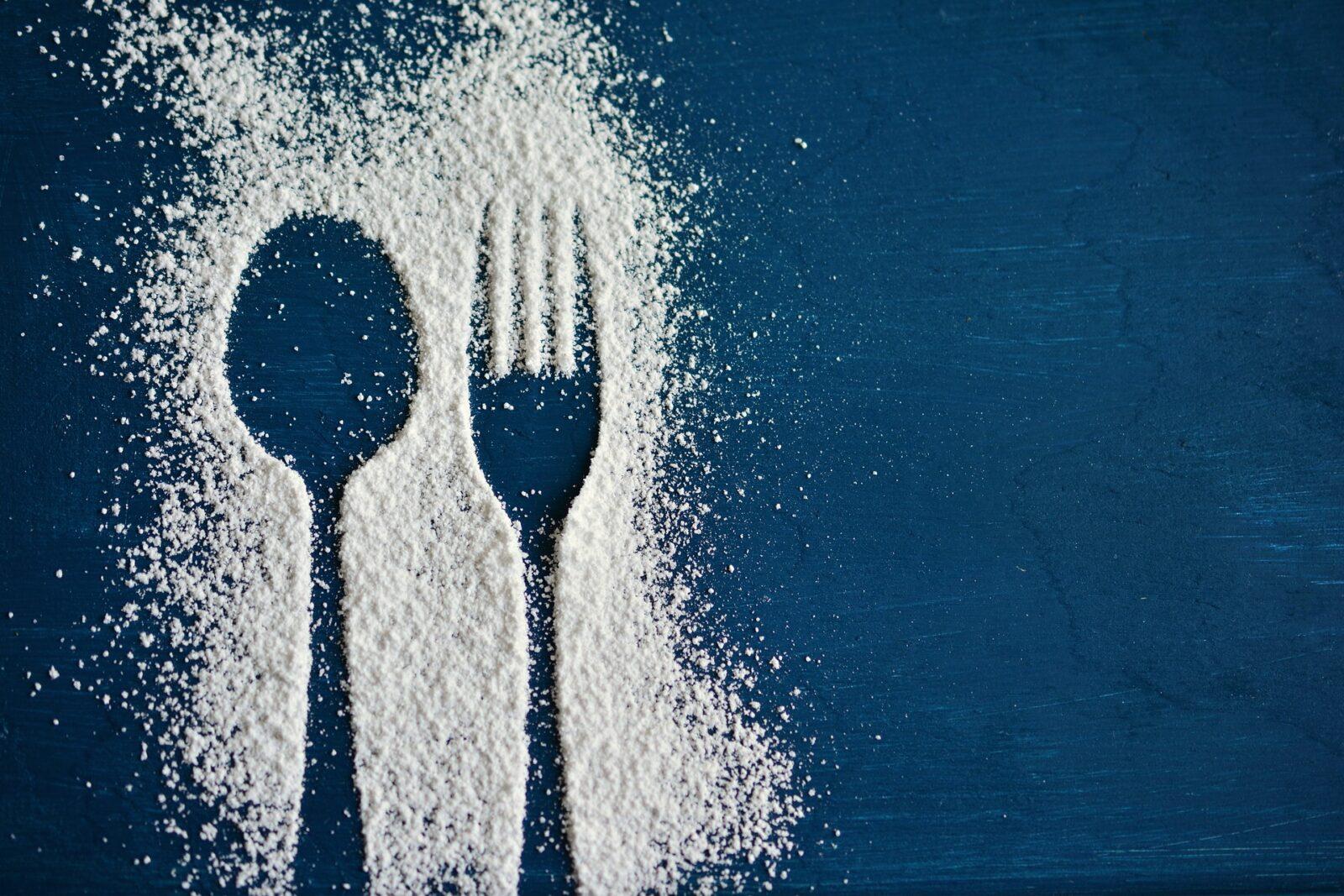 spilled-salt-spoon-and-fork-outline