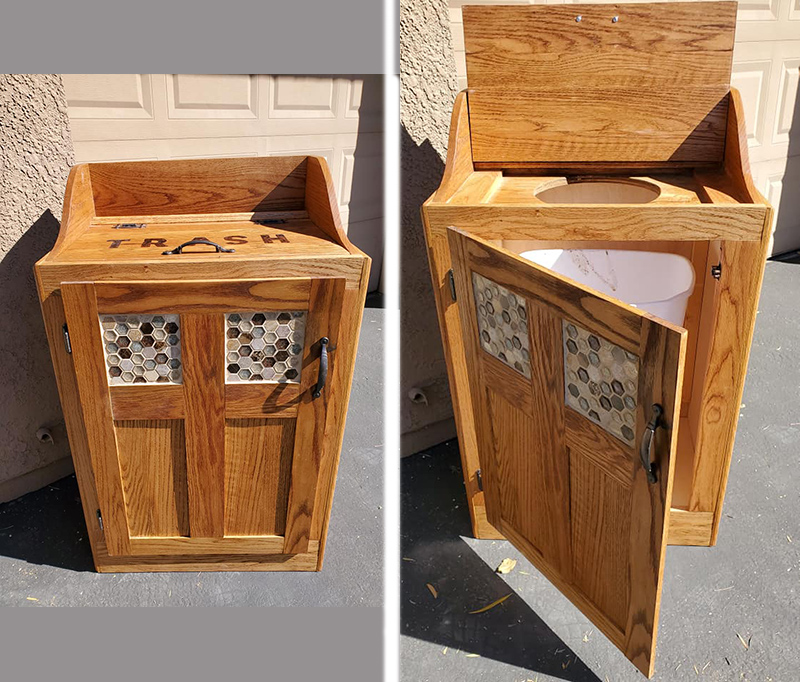 Picture of Trash Can Enclosure