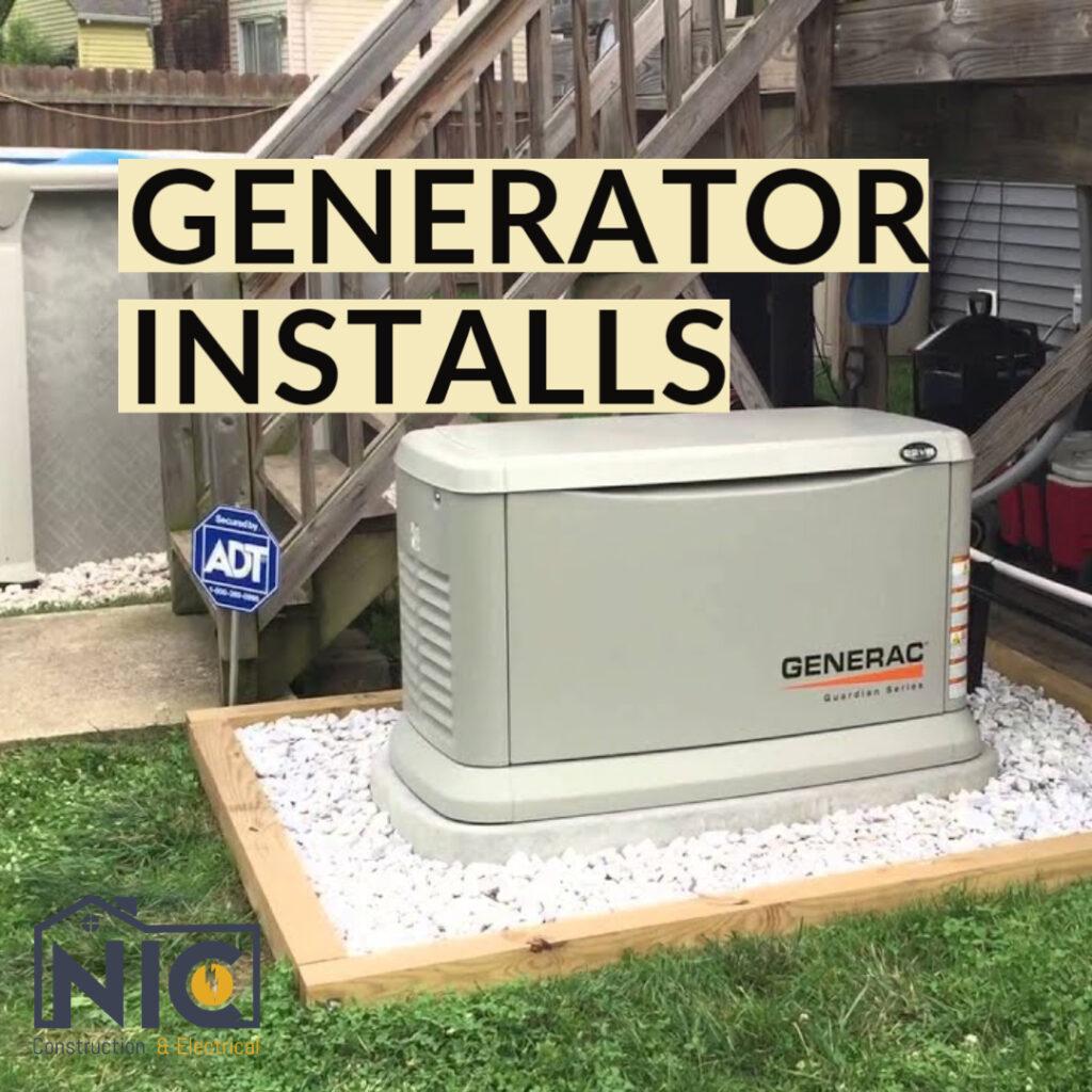 Generator Installs in Santa Clarita