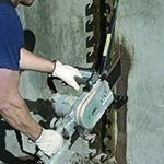 CS Unitec Concrete Saw Speedhook