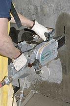 CS Unitec Pneumatic Concrete Chain Saw