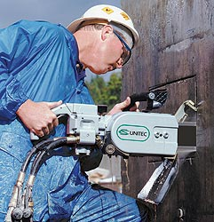 CS Unitec Hydraulic Concrete Saw