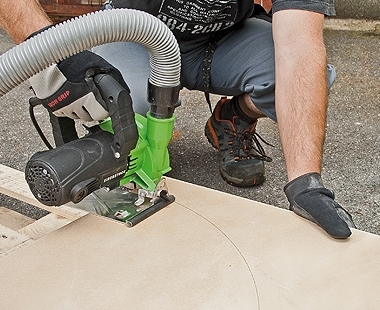 CS Unitec Wet/Dry EDS Stone Saw dust collection app