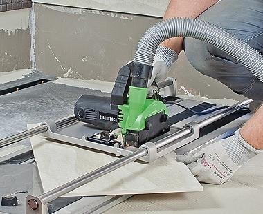 CS Unitec Wet/Dry EDS Stone Saw optional cut table