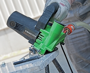 CS Unitec Wet/Dry EDS Stone Saw stepless mitre adjustment