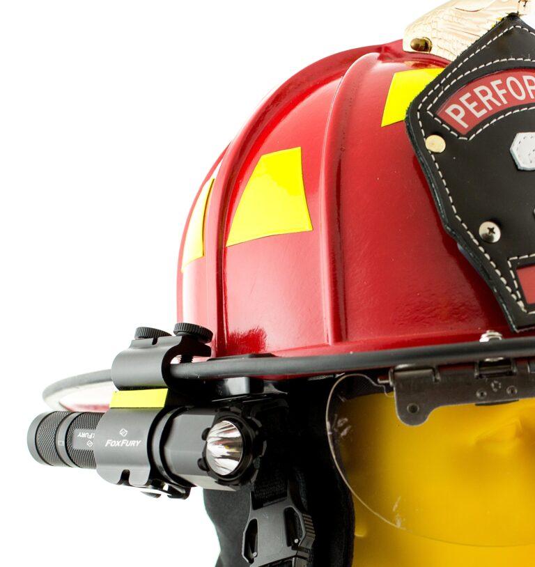 Foxfury SideSlide C-clamp Helmet Light