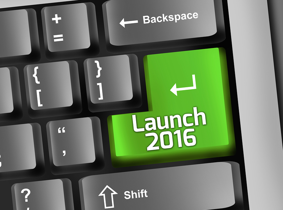 Marketing Launch Button