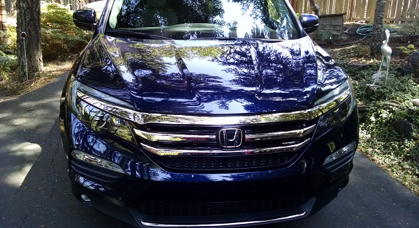 Is 2016 Honda Pilot Elite all-wheel-drive off road worthy?