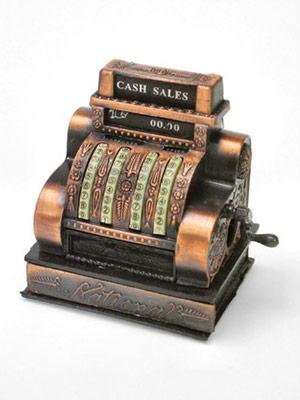 antique, cash, register, sales, retail, copper, replica, pencil, sharpener, finance, currency, ctechs