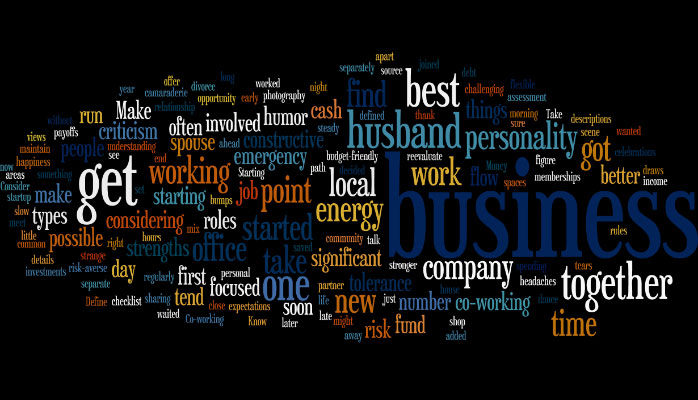 Successful business with your spouse