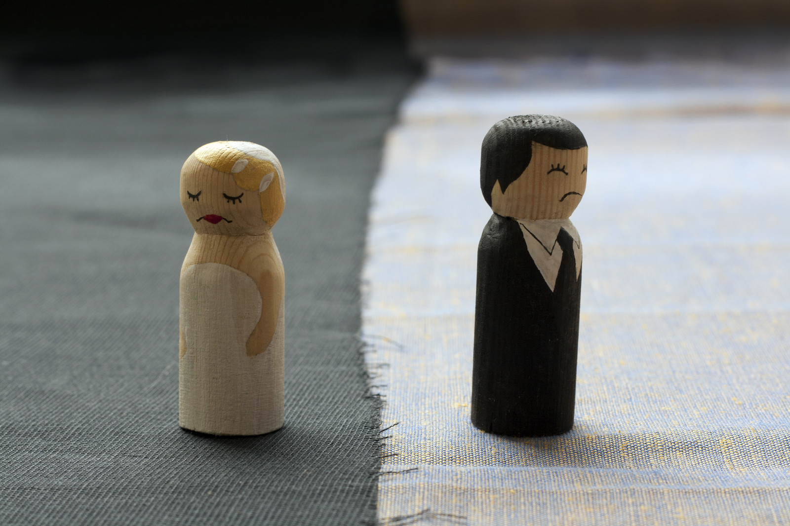 toy bride and groom characters