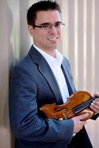 Dominic J Ivanovic, Violinist