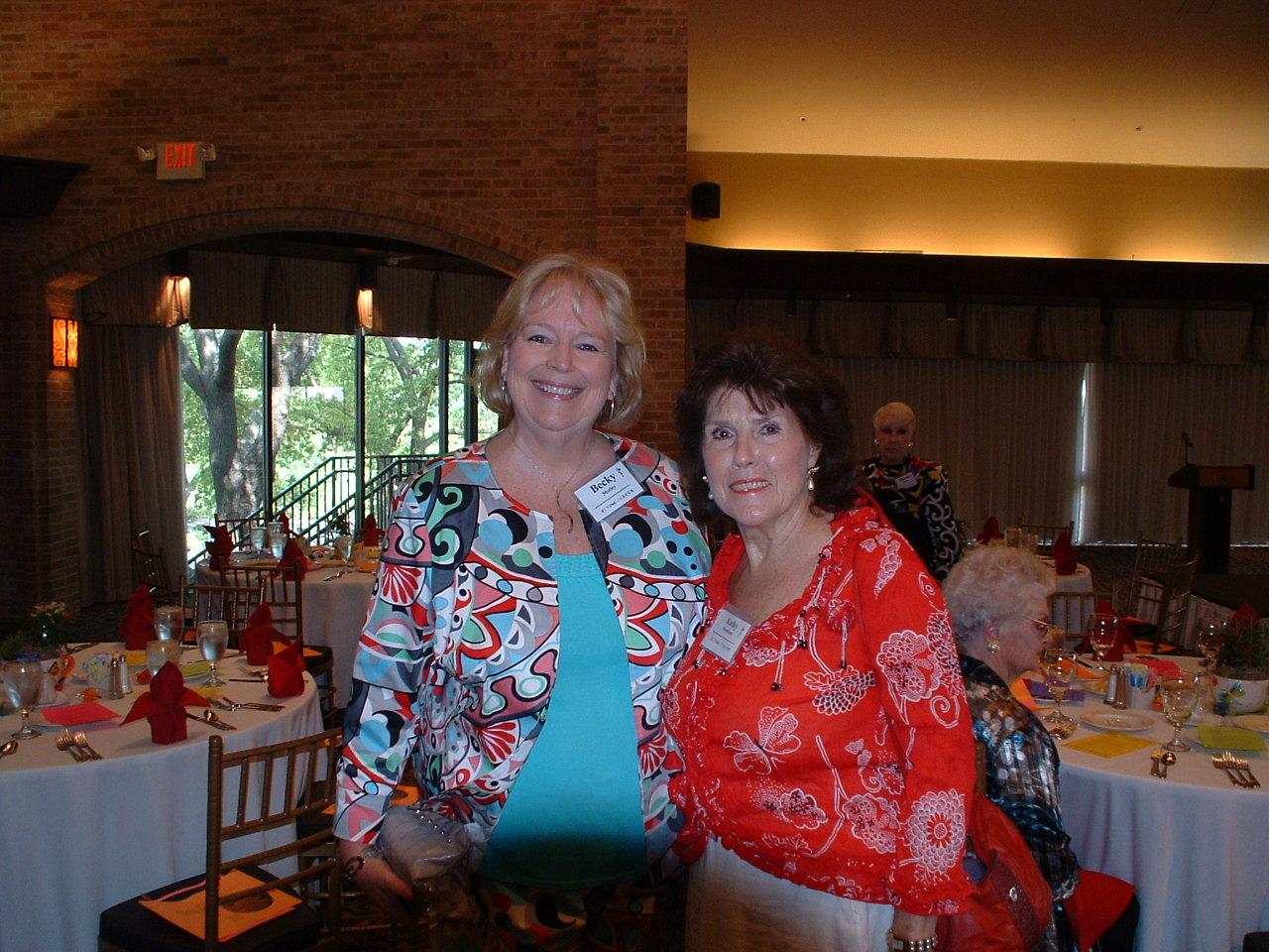 Becky Motley & Kathy Woodson