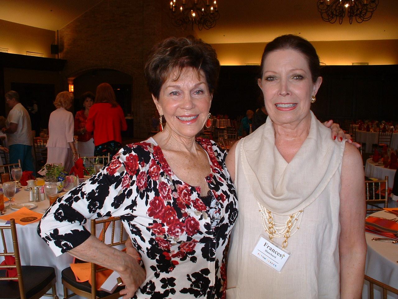 Joan Redmond & Fran Ballard