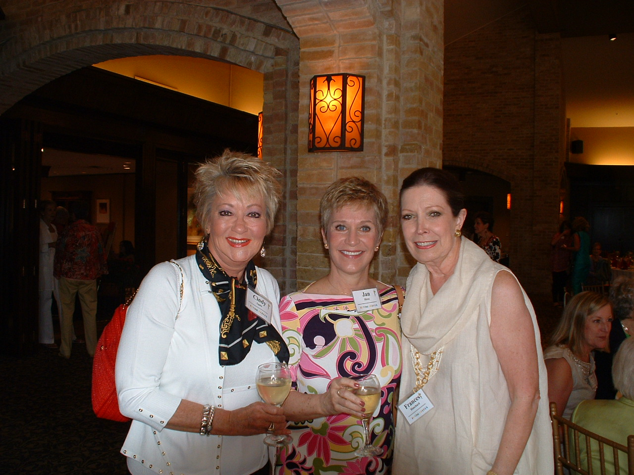 Cindy Lipitz, Jan Hires & Fran Ballard