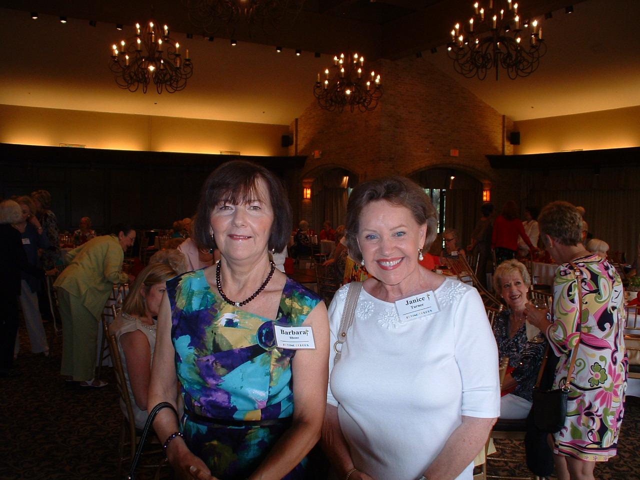 Barbara Rhone & Janice Turner