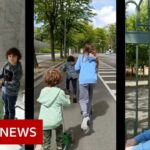 Coronavirus: Spain eases lockdown measures to allow children outside – BBC News
