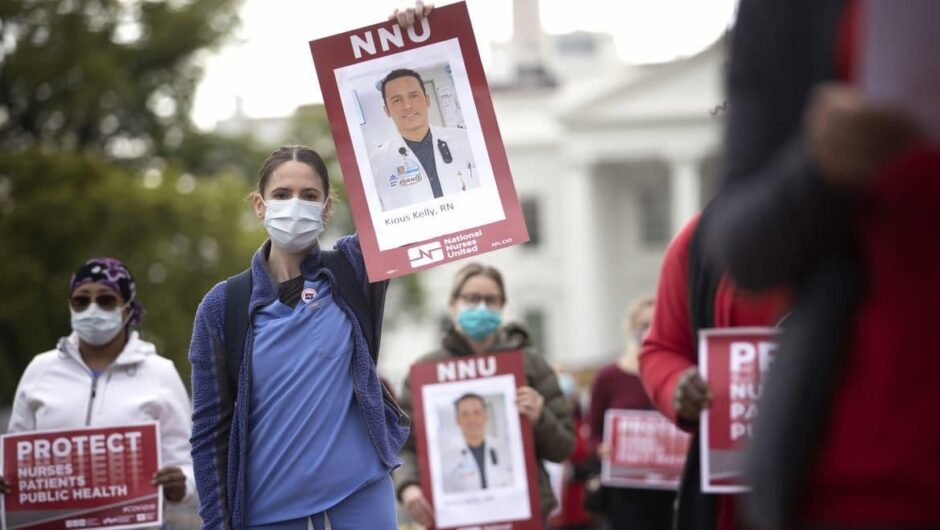 Dozens of Nurses Have Died of COVID-19. The Rest Are Still Forced to Reuse Masks.